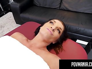 POVMania: Silvia Saige Throat Fucks & Pussy Bangs Miles Long