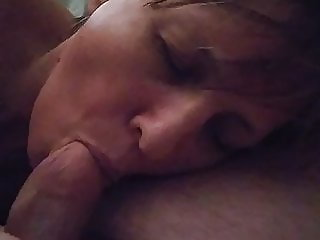 Just easy Cock sucking..