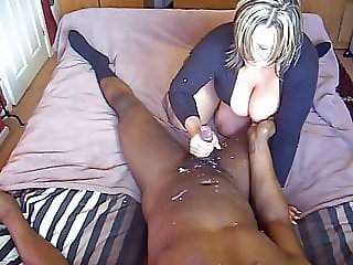 british babe jerks of black man