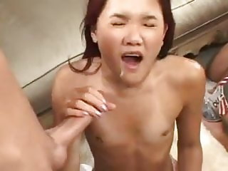 Tiny Asian Facial