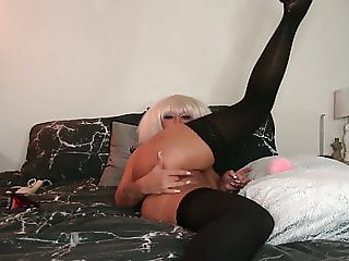 Princess Lacey having finger in sex with herself