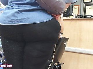 Mature Dork Black DONKEY ASS VPL