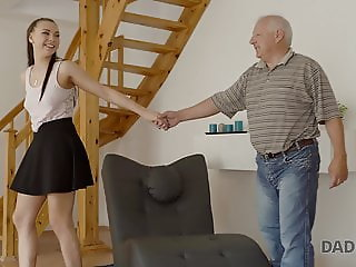 DADDY4K. Boyfriend caught girl having old and young sex