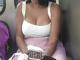 Latin tits on the shuttle bus