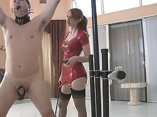 MISTRESS KENDRA WHIPPING AND SHOCK COLLAR
