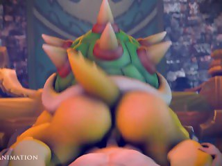 Bowser Getting Plowed (Part 2)