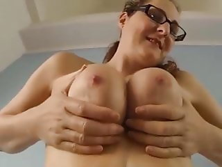 sabine - tits jiggling compilation