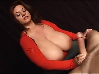 Nasty Talking Massive Tits Milk Job