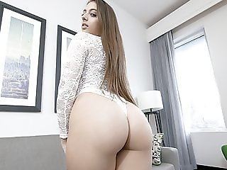 SisLovesMe - Sexy Teen Takes a Big Dick Pounding