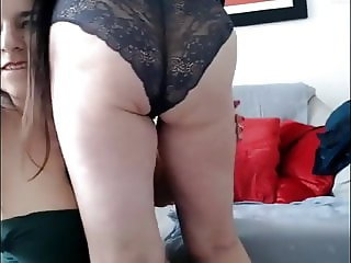 Mother and Daughter Camming Together