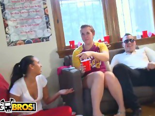BANGBROS - Sorority Party Bang Bros Style With Diamond Kitty & Friends