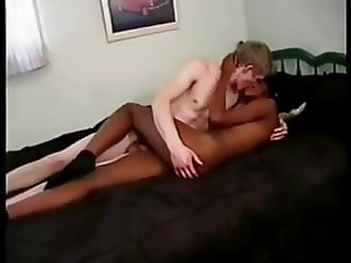 Black girl loves white cock bareback