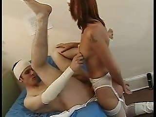 Nurse strapon girl fuck at hospital