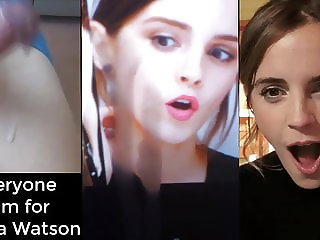 Cum Tribute - Emma Watson - Composition