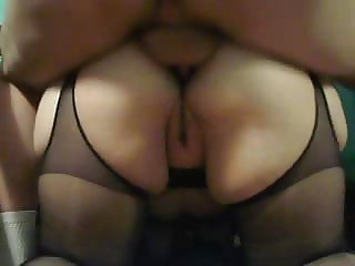 amateur wife anal creampie in pantyhose