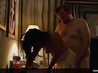 Elizabeth Reaser & Stephanie Branco Striptease And Doggy Sex