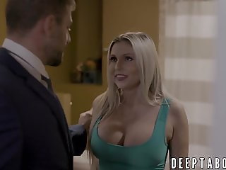 MILF Christie Stevens has a huge hunger for big fat cock
