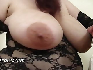 Madison the maid with milky breasts