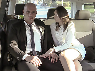 VIP SEX VAULT - Czech Babe Seduce Her Chauffeur Into Sex