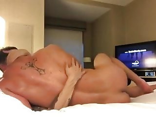Wife taking bbc wile hubby films