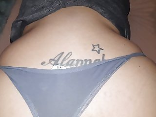 Fucking My Wife With her Thong on (SHORT Clip)