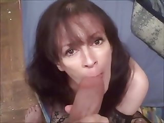 New York cock whore Debbie P. sucks that fat dick