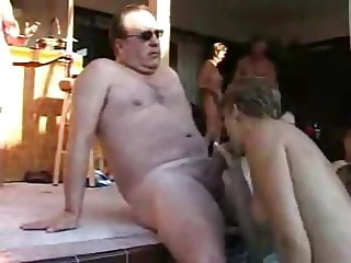 Amateur Swingers' Pool Party