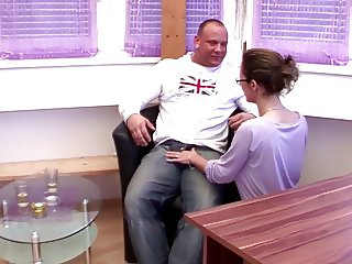 German Vintage - Bro talk Step Sister to Fuck on Family Turn