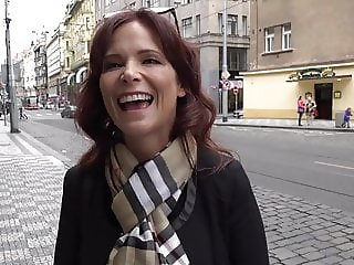 American MILF In Prague