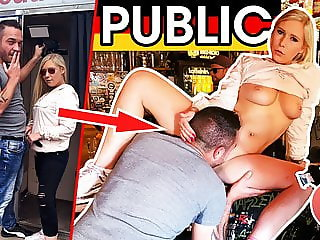 dates66.com PUBLIC: German Teenie Slut Fucked In Bar