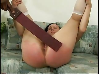 Student spanked plugged and forced to suck cock