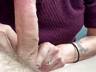 sucking my cock and loves to do it
