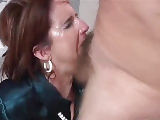 Liz Receives Hard Abuse To Her Mouth, Cunt and Asshole