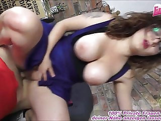 German Neighbor normal girl next door natural tits firsttime
