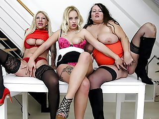 Strap-On Situation! The Big, the Old & the Beauty