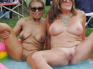 Filipino Milf with friend at Nudes a Poppin 2019