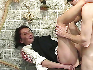 ugly hairy mom rough fucked