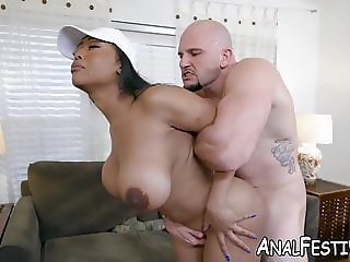 Moriah Mills has a fat ass and a huge desire to be nailed