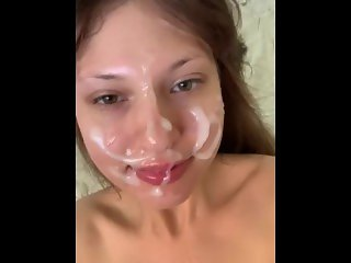 Good morning! A beautiful, natural facial by Anna Blossom