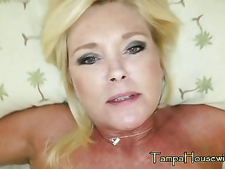MILF POV Smoking Sucking and Fucking