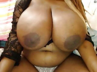 HUGE EBONY BOOBS