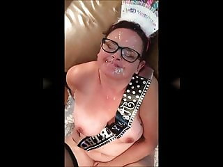 Two facials for chubby slutmom