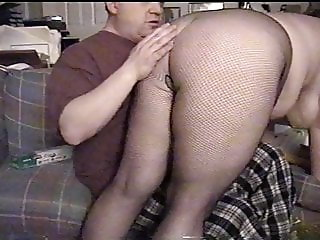 Plump Maid In Fishnets Stockings Spanked, Big Tits Fondlded