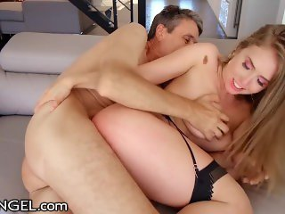 EvilAngel PAWG Lena Paul's Fat Cock Anal Injection