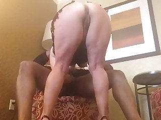 Hotwife Sucks Off Big Black Cock