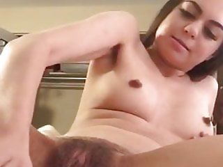 Solo black tranny blows her hot cumload