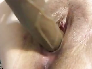 Filling my tight wet pussy