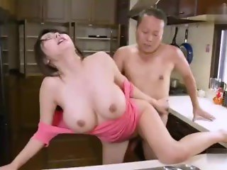 MOM JAPANESE IS TRICKED INTO SEX BY HORNY STEP SON