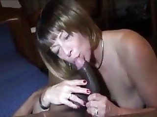 Mature In Black Stockings Cunt Pumps BBC