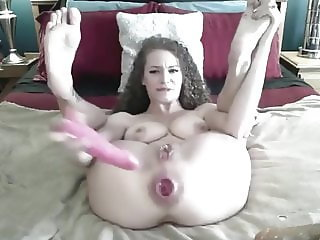Curly girl anal game